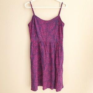 EUC The Gap Pink Purple/Blue Fully Lined Sundress